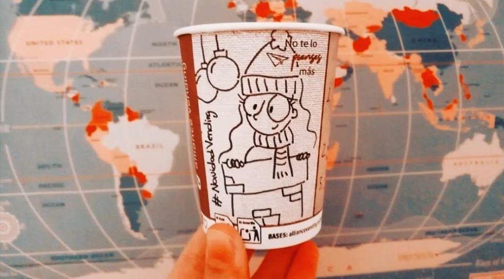 vasos navidad alliance vending