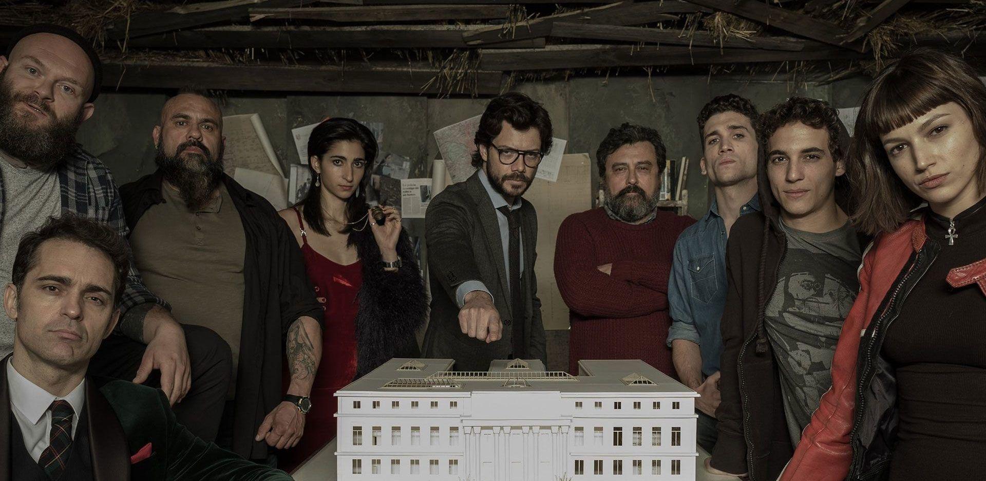 Alliance Vending presente en la serie española más vista en todo el mundo la casa de papel