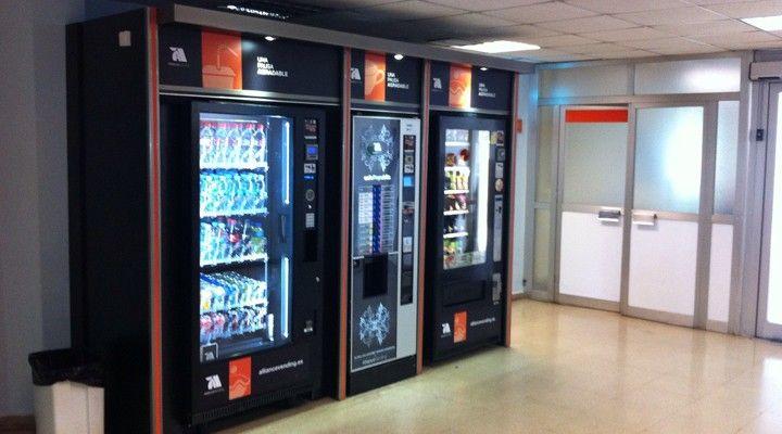 Máquinas expendedoras en Barcelona - Hospital Duran i Reynals - Alliance Vending
