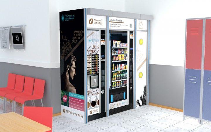 máquinas expendedoras gimnasio